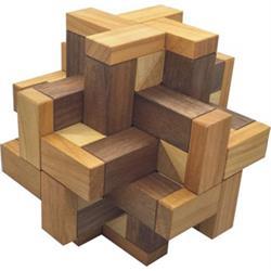 פאזל מעץ תלת מימדי  prisma -star