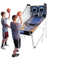 מתקן כדורסל כפול לילדים