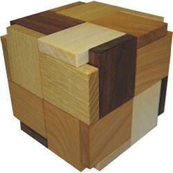 פאזל מעץ תלת מימדי try-cycle puzzle