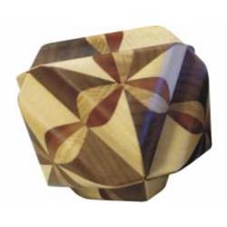 פאזל תלת מימדי יפהפה מעץ ocvalhedron  13