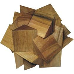 פאזל מעץ תלת מימדי zigzag