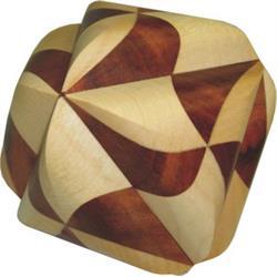 פאזל מעץ יפהפה תלת מימדי ocvalhedron 26