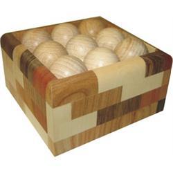 פאזל חלח מימד  מעץ רשה לפתרון try-bal 332-panel box