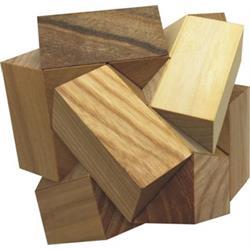פאזל תלת מיימד מעץ cohedron