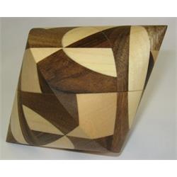 פאזל מעץ תלת מימדי לפרוק והרכבה bicone 6