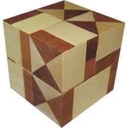 פאזל תלת מימדי מעץ theo's halfcubes