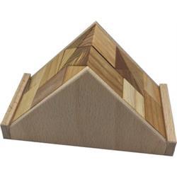 פאזל מעץ תלת מימדיtriangle ac2