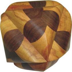 פאזל מעץ תלת מימדי מהמם ocvalhedron 30