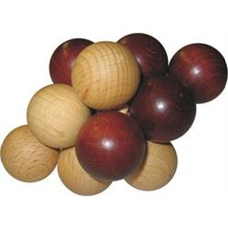 פאזל כדורים מעץ תלת מימדי vincoxiv