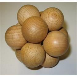 פאזל כדורים מעץ kissel