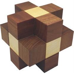 פאזל תלת מיימד מעץ prisma ballin