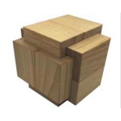 פאזל קופסא מעץ תלת מימדי double desk box