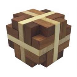 פאזל מעץ לפרוק והרכבה hexator