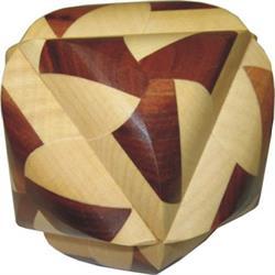פאזל מעץ יפהפה תלת מימדי ocvalhedron 24