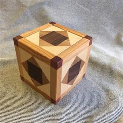 פאזל קוביה מעץ תלת מימדי special box 503