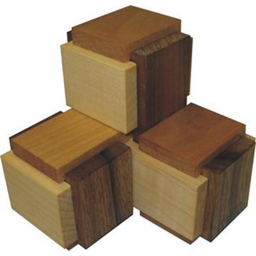 פאזל פירוק והרכבה בעל 6 חלקים 3 boxy